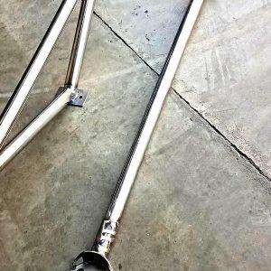 Nissan 240sx S13 Rear Strut Bar Raw Finish